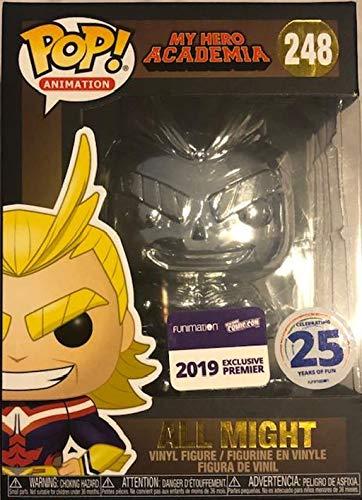 POP! My Hero Academia 248 all Might Chrome Exclusive