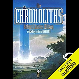 The Chronoliths  audiobook cover art