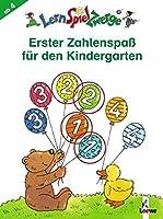 LernSpielZwerge - Erster Zahlenspass fuer den Kindergarten: Mal- und Raetselspass