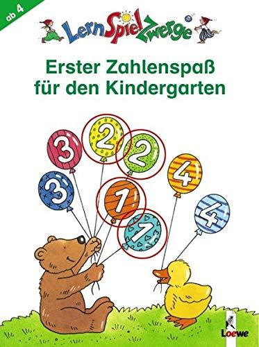 LernSpielZwerge - Erster Zahlenspaß für den Kindergarten (LernSpielZwerge - Mal- und Rätselblocks)