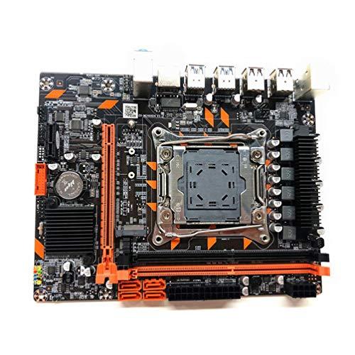 6.7x8.3 pulgadas 100% nuevo X99 placa base LGA2011-3 Pin procesador PC placa base DDR4 memoria E5 2678 2690V CPU conjunto nuevo X99 placa base