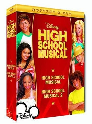 Coffret - High School Musical 1 + 2 [Francia] [DVD]