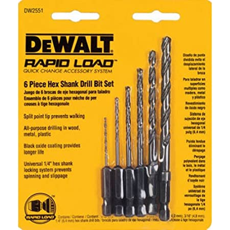 For Dewalt Impact Driver Drill-Holders Screw Screwdriver Bits 1//4 Hex-Shank