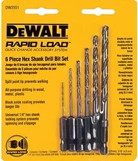 Best dewalt rapid load drill bits Reviews