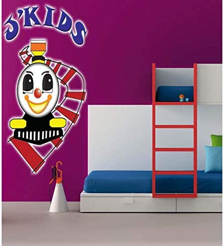 Full Color Ranking TOP14 Childrenâ??s Train Sticke trend rank Colored Decal Sticker