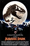 MCPosters Jurassic Park Steven Spielberg GLOSSY FINISH Movie Poster - MCP237 (24' x 36' (61cm x 91.5cm))