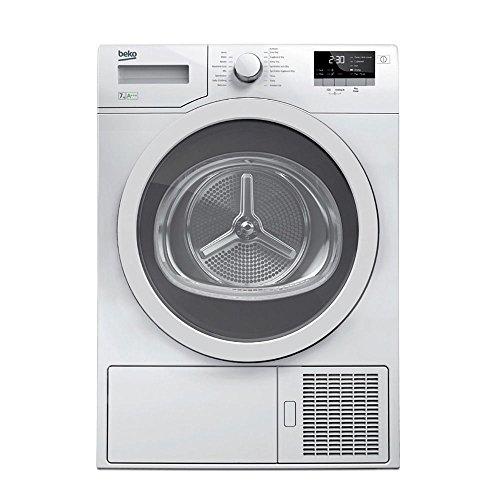 Beko DPY7406GXB3 freestanding Front-load 7kg A+++ White tumble dryer - tumble dryers (freestanding,...
