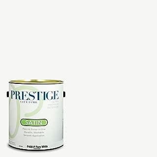 Prestige Paints P400-P-7006-24VP Paint and Primer in One, 1-Gallon, 1 Gallon, VS31-Ultra White