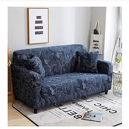 wjwzl Frühling Italienischen Blumen Jacquard Sofabezug Stretch Stoff Stuhl Bank Sofabezug (1/2/3/4) Universal Sofabezug Möbelbezug90-135Cm