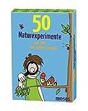 moses. 50 Naturexperimente - Geh raus und werde Forscher! | Kinderbeschäftigung | Kartenset