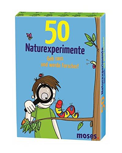 moses. MOS21079 50 Naturexperimente Geh raus und werde Forscher! | Kinderbeschäftigung | Kartenset