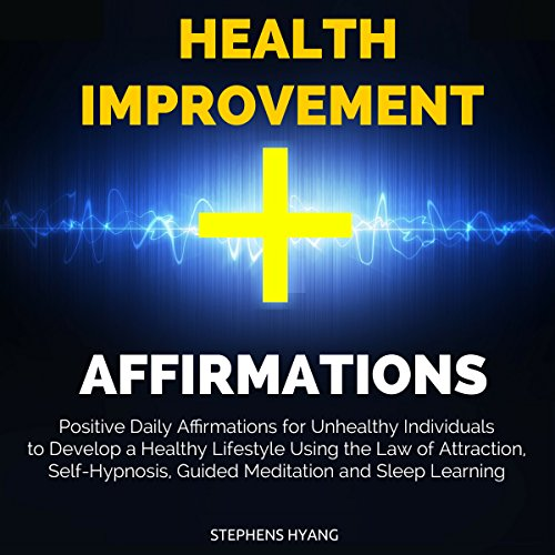 Health Improvement Affirmations audiobook cover art