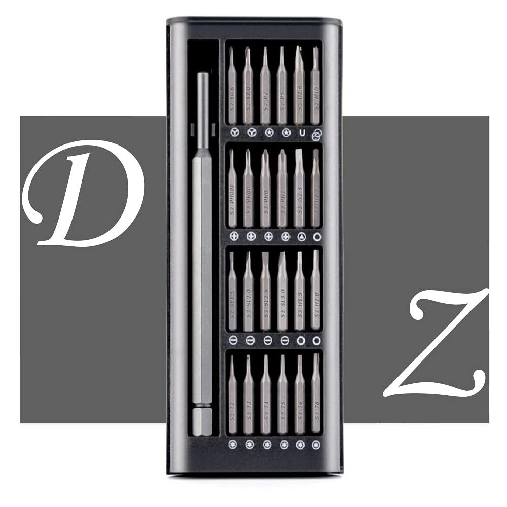 Dazhou Juego de mini destornilladores, 24 en 1 de precisión,