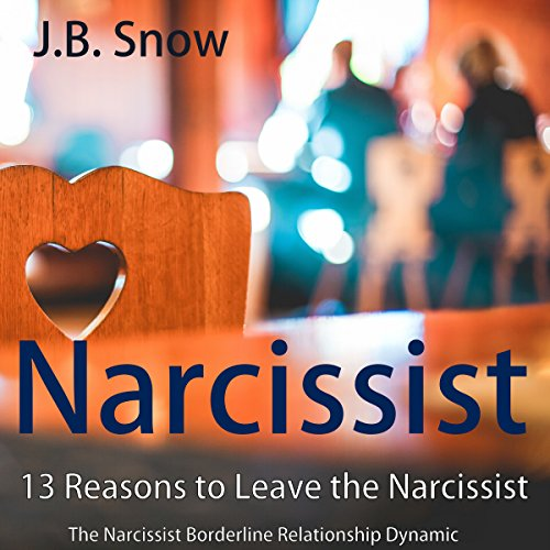 Narcissist: 13 Reasons to Leave the Narcissist Audiobook By J.B. Snow cover art