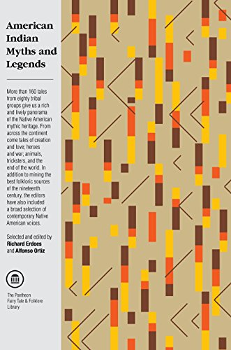 American Indian Myths and Legends (The Pantheon... 0394740181 Book Cover