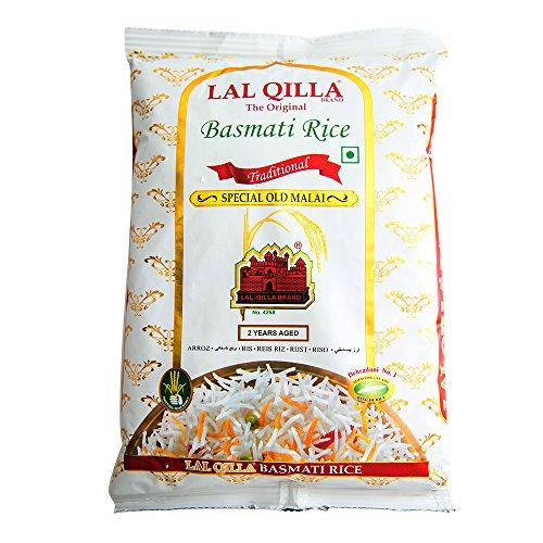 バスマティライス インド産 LAL QILLA 3kg 【1kg×3袋】 Basmati Rice 長粒米 インディカ米 香り米 業務用