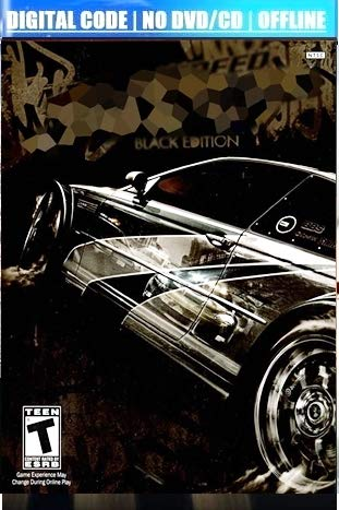 ELITE PC Game for Need for Speed Most Wanted 2005 Black Edition | Digital Download | Offline
