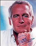 Paul Newman Autogramm, signiert Foto Print ca. Größe