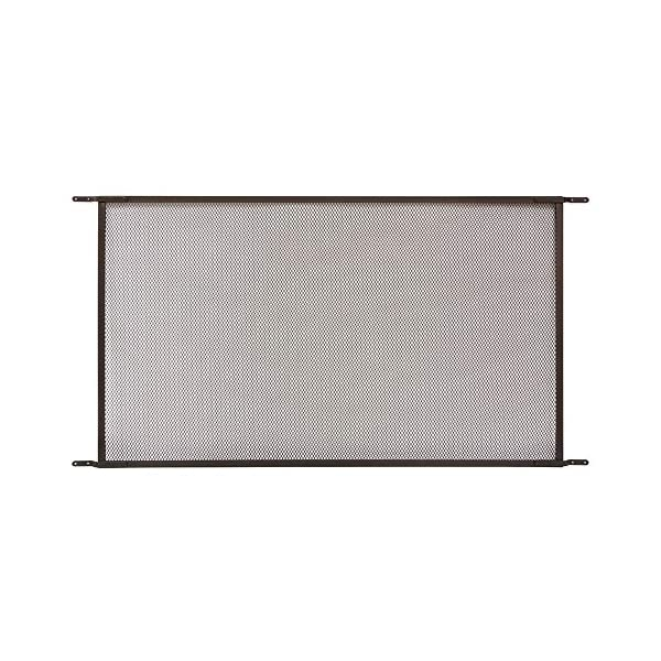 Make-2-Fit PL 15942-1 Patio Sliding Screen Door Grille, 48 in. x 26 in, Aluminum...