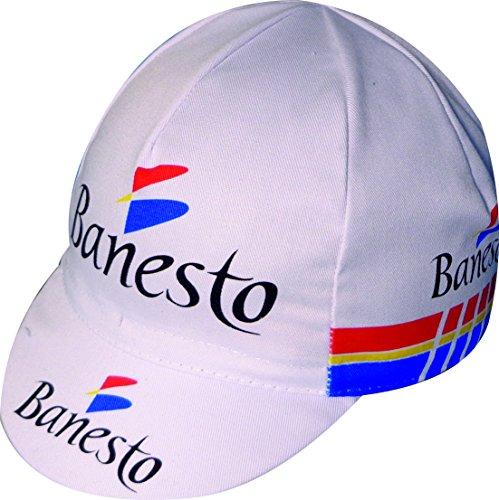 APIS Radmütze BANESTO Cycling Team Retro 65% Polyester 35% Baumwolle eingenähtes elastisches Band Universalgröße - One Size fits All !!!