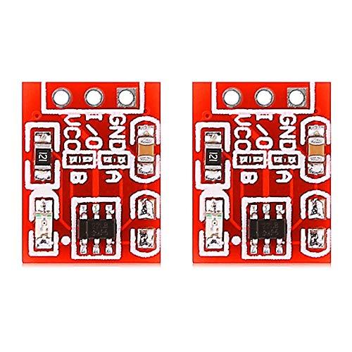 W-SHTAO L-WSWS 2PCS TTP223 Capacitive Touch Self-lock Module Switch Button