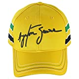 (アイルトン セナ/Ayrton Senna) CAP SENNA HELMET (セナ ヘルメット キャップ) F1 グッズ 帽子 FREE イエロー