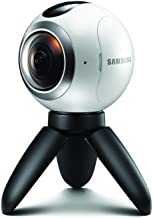 Samsung Gear 360 Degree Spherical Camera (SM-C200) for Galaxy S7, S7 Edge, S6, S6 Edge, S6 Edge Plus, Note 5 (International Version - No Warranty)