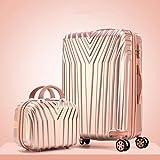 24 ''29 pulgadas Rolling Equipaje 20'' Carry Ons Cabin Maleta Trolley Spinner Cremallera Aluminio Marco Viaje Estuche Set Pequeño Conjunto de Cremallera de 29 pulgadas