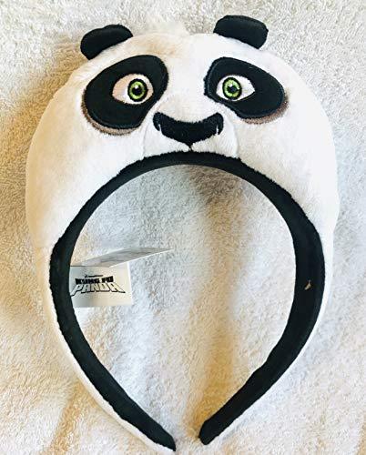 D Kung Fu Panda, Po-Stirnband, Ohren, Kostüm-Zubehör