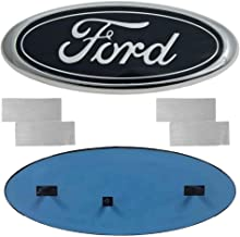 Carhome01 Front Grille Tailgate Emblem for Ford, Oval 9
