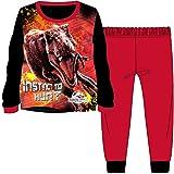 Official Disney Jungen Schlafanzug Gr. 5-6 Jahre, Jurassic World - Red