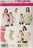 Simplicity 1936 Child's, Women's, and 18''...