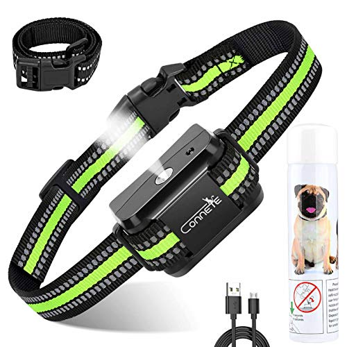 Auto Citronella Bark Collar for Dogs, [1Citronella Spray] Waterproof Spray Dog Training Collar, No Shock Humane Citronella Dog Barking Collars, Safer Rechargeable Anti Barking Control Collar