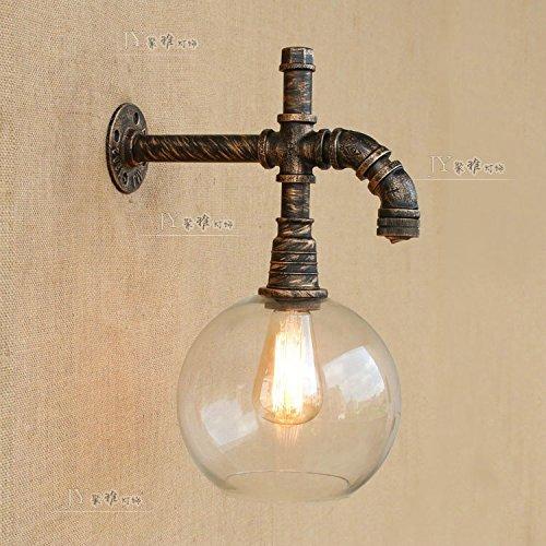 YU-K La personnalité de l'air industrielle tuyau créative appliques éclairage de la salle de restaurant et bar mobilier appliques, source de lumière LED avec