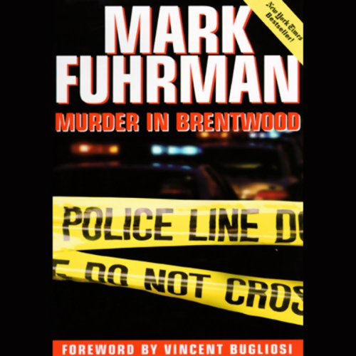 Murder in Brentwood audiobook cover art