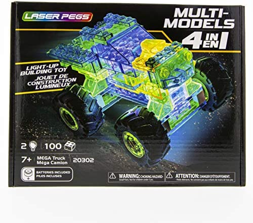 Laser Pegs 4 in 1 Mega Truck product image