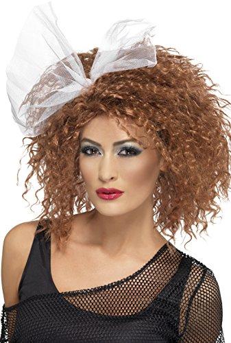 Women's 80s Wild Child Wig, Brown
