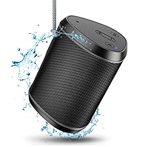 Portable Bluetooth Speakers, Wireless Mini Speaker with Stereo Sound Effect, Rich Bass, 60ft Bluetooth Range, Built-in Mic, Support AUX/TF Card, IPX6 Waterproof Outdoor Speaker for iPhone iPad
