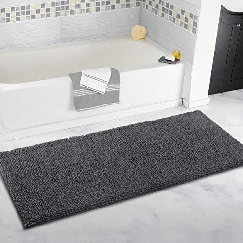 ITSOFT Non-Slip Shaggy Bathroom Rug