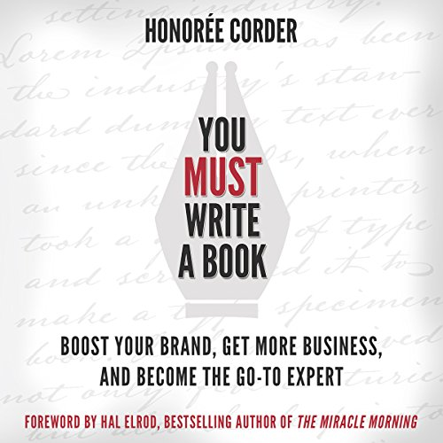 You Must Write a Book audiobook cover art