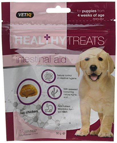 VetIQ Intestinal Aid Treats - Puppies 6 x 50g packs