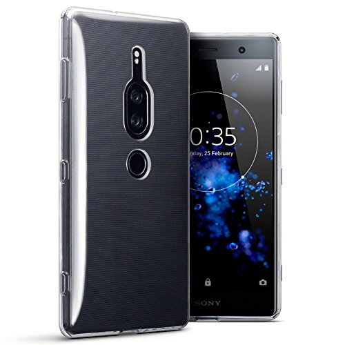 TERRAPIN, Kompatibel mit Sony Xperia XZ2 Premium Hülle, TPU Schutzhülle Tasche Hülle Cover - Transparent