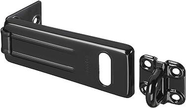 Master Lock 704EURDBLK deurslot met veiligheidsovervallen voor buiten, 11 x 4,4 cm, zwart