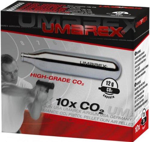 Caja De 10 Bombonas Co2 12Gr. Umarex para Pistolas Y Carabinas