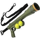 Pet Ting Bazooka - Lanzador de Pelotas de Juguete con Correa de Juguete (hasta 90 cm,...