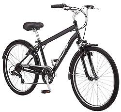 small Schwinn Suburban Sport Comfort Hybrid Bike