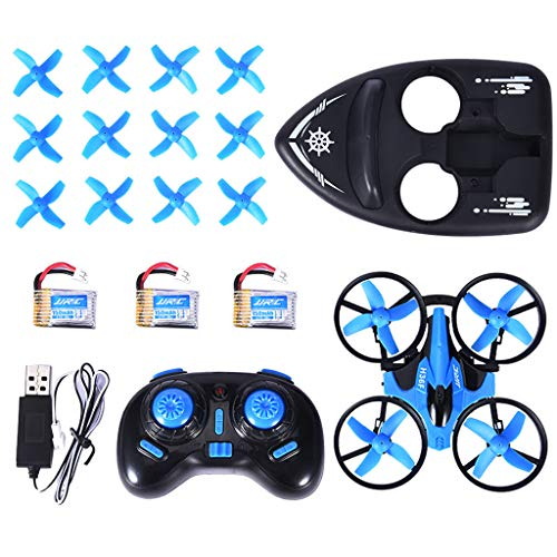 3 in 1 Mini Drone Toys , JJR/C H36F 2.4G 6-Axis Gyro RTF RC Quadcopter Best Drone for Kids & Beginners RC Helicopter Plane,Great Gift for for Birthday ,Christmas , New Year WM & MW