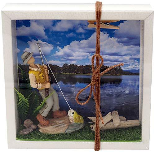 ZauberDeko Geldgeschenk Verpackung Angler Angeln Fischen Angelzubehör Gutschein Geschenkidee Geburtstag