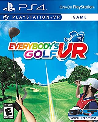 Everybody's Golf VR PlayStation