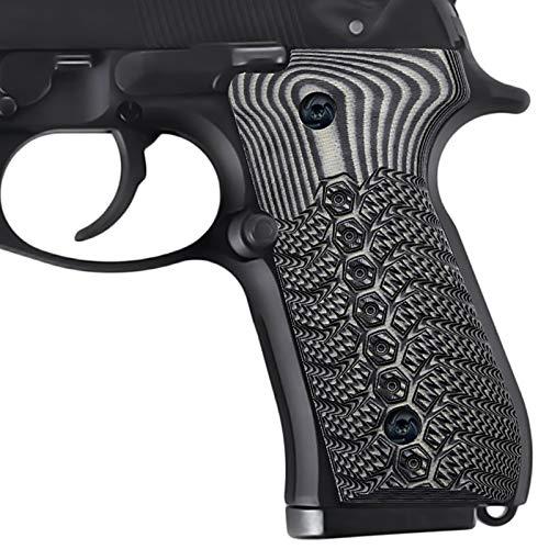 Guuun Beretta 92fs Grips G10 Slim Mechanical Texture Full Size M9 92A1 96A1 92 INOX Grip